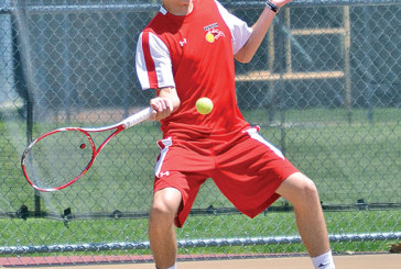 Kenton's Oates finishes fourth at district tennis tournament