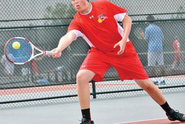 Kenton advances two to district tennis