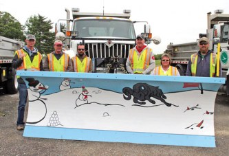 USV's Paint the Plow entry