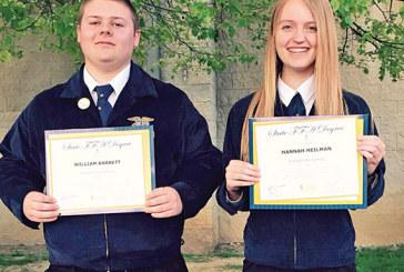 Kenton-OHP FFA members honored