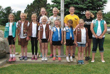 Dunkirk Girl Scouts take part in Memorial Day ceremony
