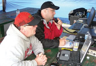 Amateur radio exercise