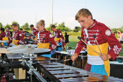 The Cadets rehearse for ONU show