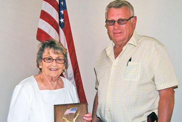 Hilty honored