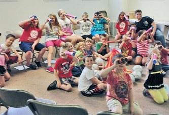 Children attend VBS