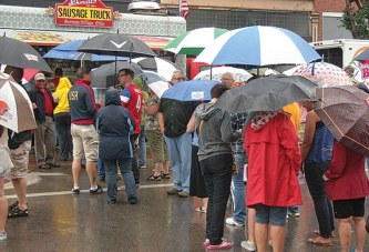 Food Truck Fest a soggy success