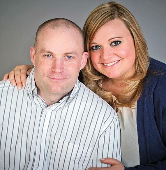 Scott Bodey and Candi Lawrence