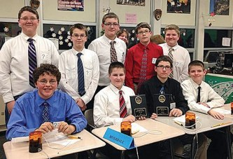 R'dale Middle School Quiz Bowl team to compete in Chicago