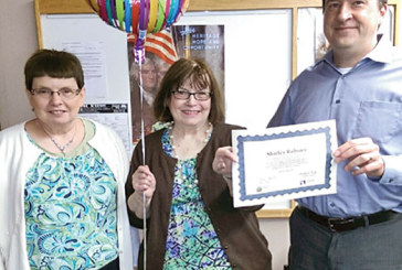 Volunteer recognized