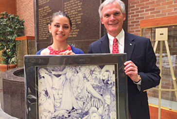 Ada High student's artwork to be displayed in U.S. Capitol Tunnel