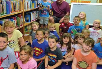 Local boy hero shares story at Ridgemont Library program