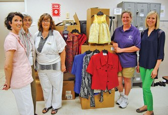 Clothes donated