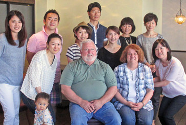 Kenton couple visits their 'kids' in Japan