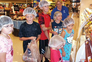 YMCA has a Terrific Tuesday learning food facts at Kroger