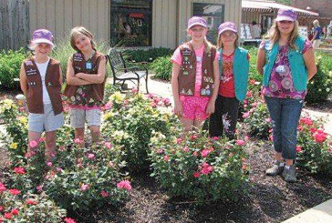 Dunkirk Girl Scouts learn gardening skills at Friendship Garden