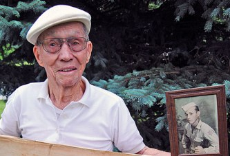 WWII veteran had doubts he would return to his family