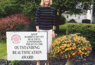 June beautification award