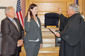 Cross newest lawyer in county