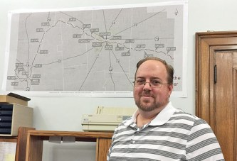 County GIS coordinator helps with the mapping of districts