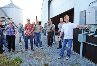 Area farmers learn of benefits in converting to solar energy