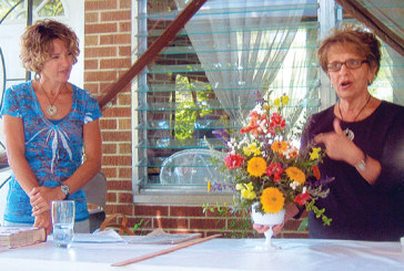 Flower arranging topic at Hardin Northern Garden Club