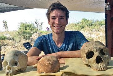 Kenton grad takes part in archaeological dig