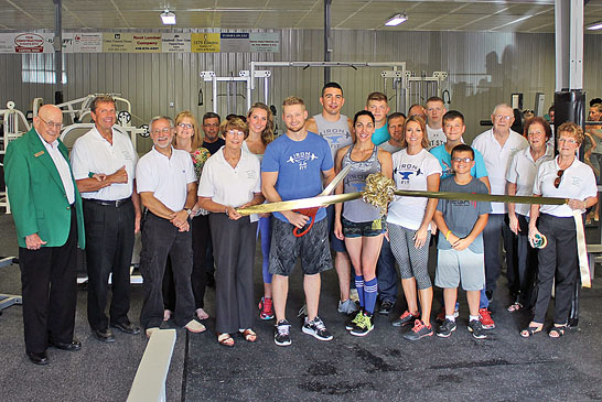 New gym opens