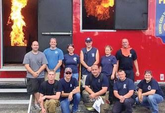 Six fire departments take part in training in Ridgeway