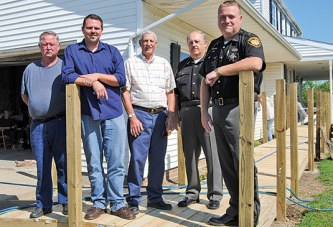 Fellow officers and family pitch in for retired deputy