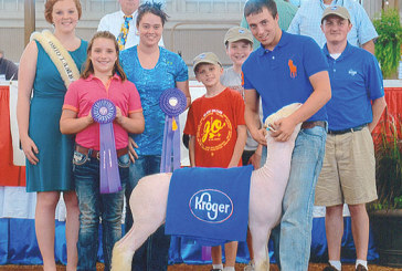 Wagner shows champion lamb