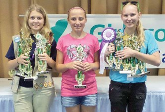 Dunkirk Girl Scouts win trophies, ribbons at state fair
