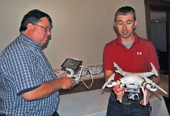 Farmers hear benefits of using drones to monitor crop growth