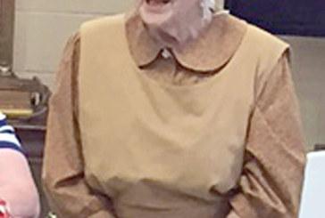 'Women of the American Revolution' program for Hardin Co. retired teachers