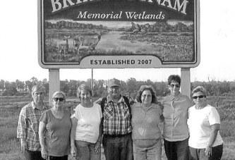 Club tours wetlands