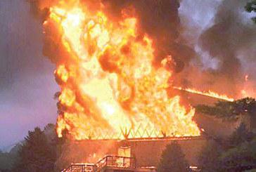 Fire destroys lodge at Mad River ski resort