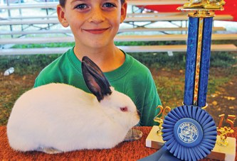 Bunnies hop to honors at the fair