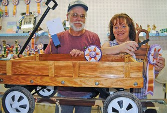 Talented winners at the Hardin County Fair