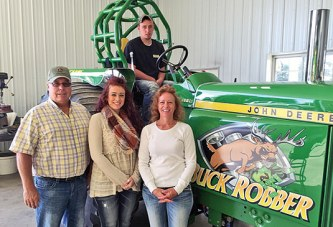 Tractor pulling a family affair for James clan of rural Ada