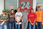 Benjamin Logan FFA soils team participates in district contest