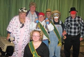 Costume participants