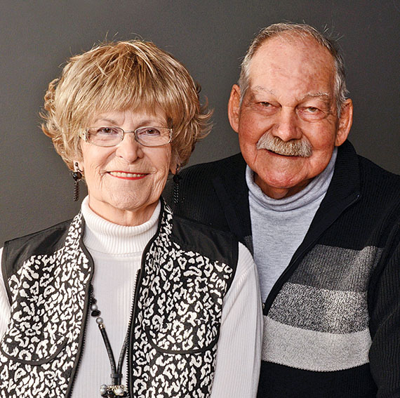 Joyce and Harvey Van Schoik