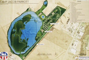 Three buildings part of plan for creation of Camp Jacob Parrott