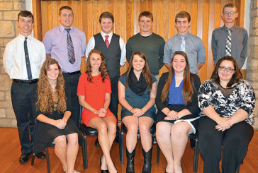 Kenton Elks Lodge honors Teenagers of the Month