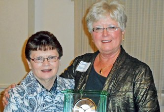 Ada honors 'swimming lady' as Distinguished Citizen of Year