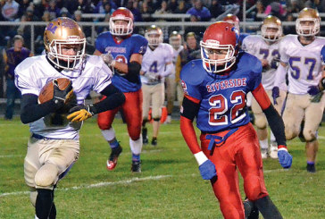 Key pass leads Riverside over Ada, 32-7, in football playoffs