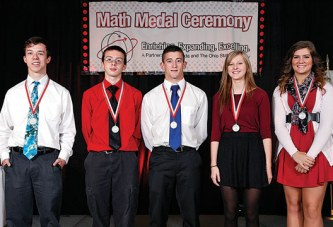 Hardin County high school seniors receive math medals