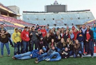 Ben Logan FFA members visit OSU