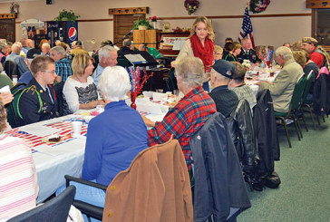 Dinner held to thank veterans