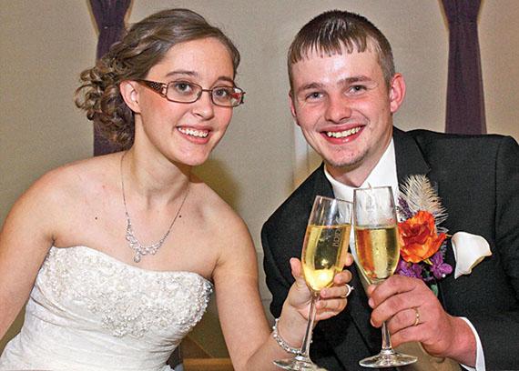 Jessica and Trevor McCall
