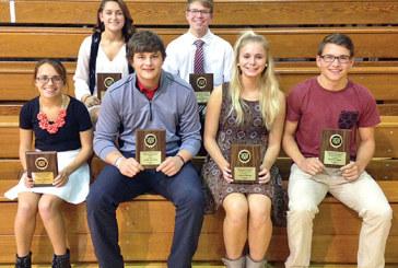 Kenton booster awards